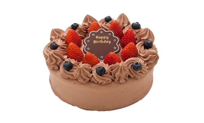 巧克力原味裝飾蛋糕
