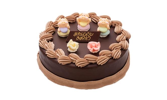 巧克力裝飾蛋糕