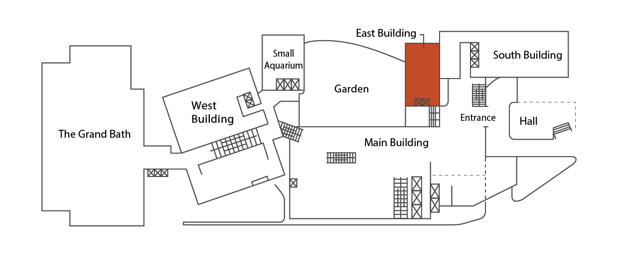 Location in the East Building