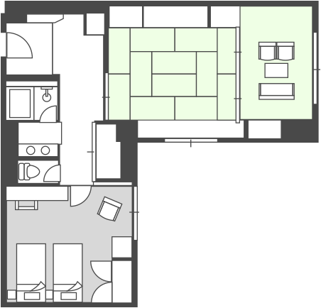 Main Building Special Room Floor Plan