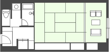 Main Building Japanese-style Room Floor Plan