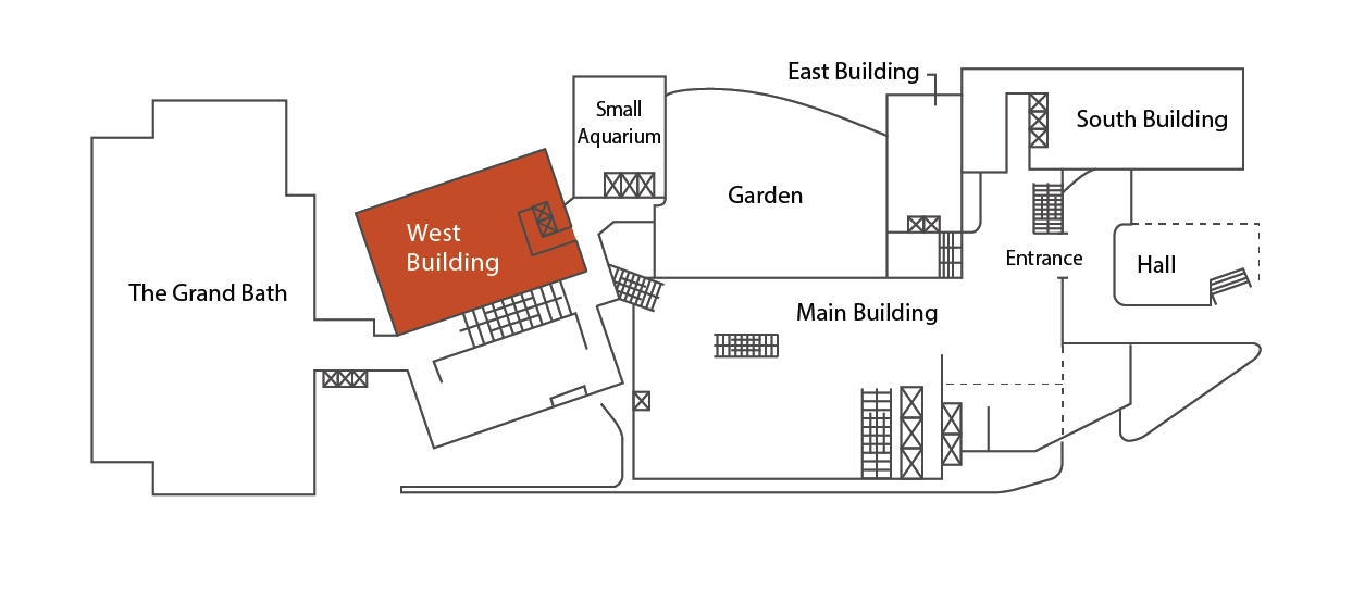 Location in the West Building